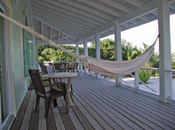 Relax on Beach Lubbers Porch Hammock